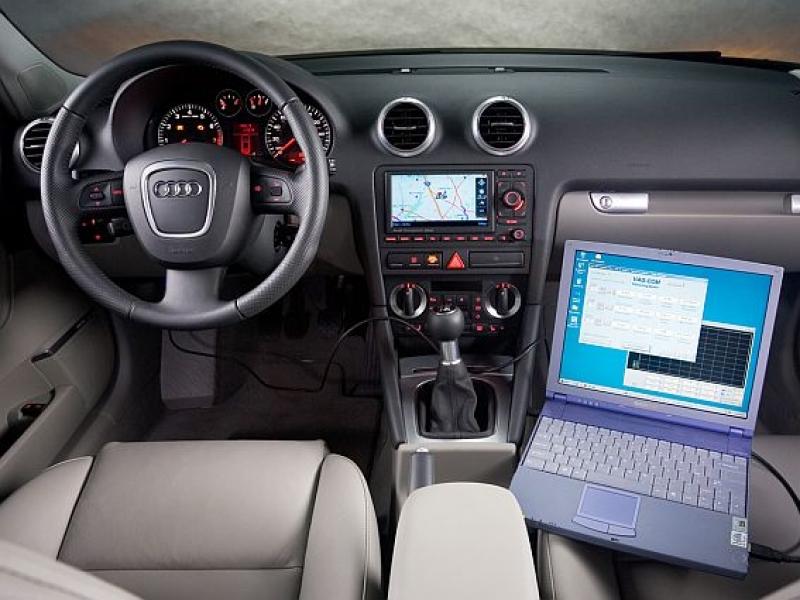 Компьютерная диагностика автомобиля форд
