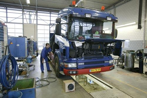 сервис грузовых машин