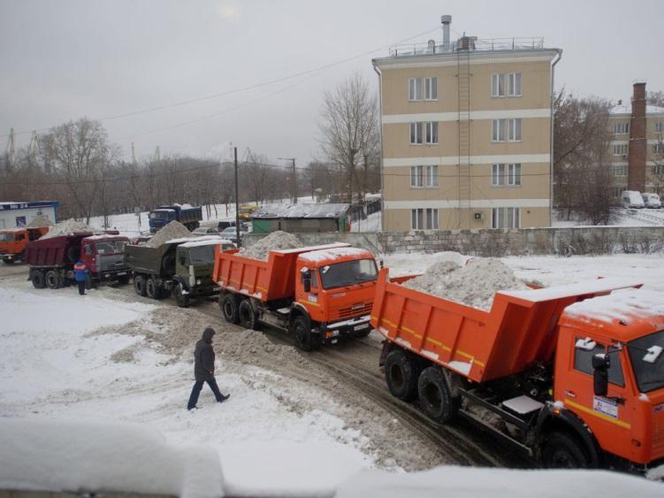 клининговая компания вывоз снега под ключ