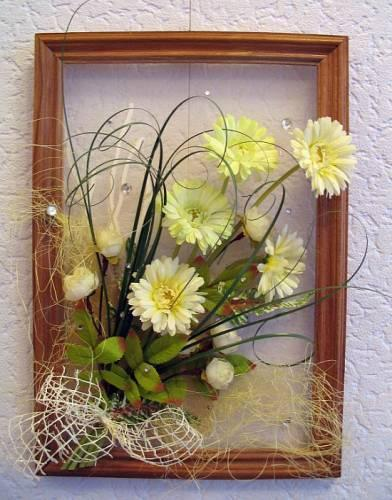цветы стабилизированные картина