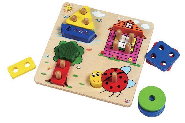 Развивающие игрушки от года