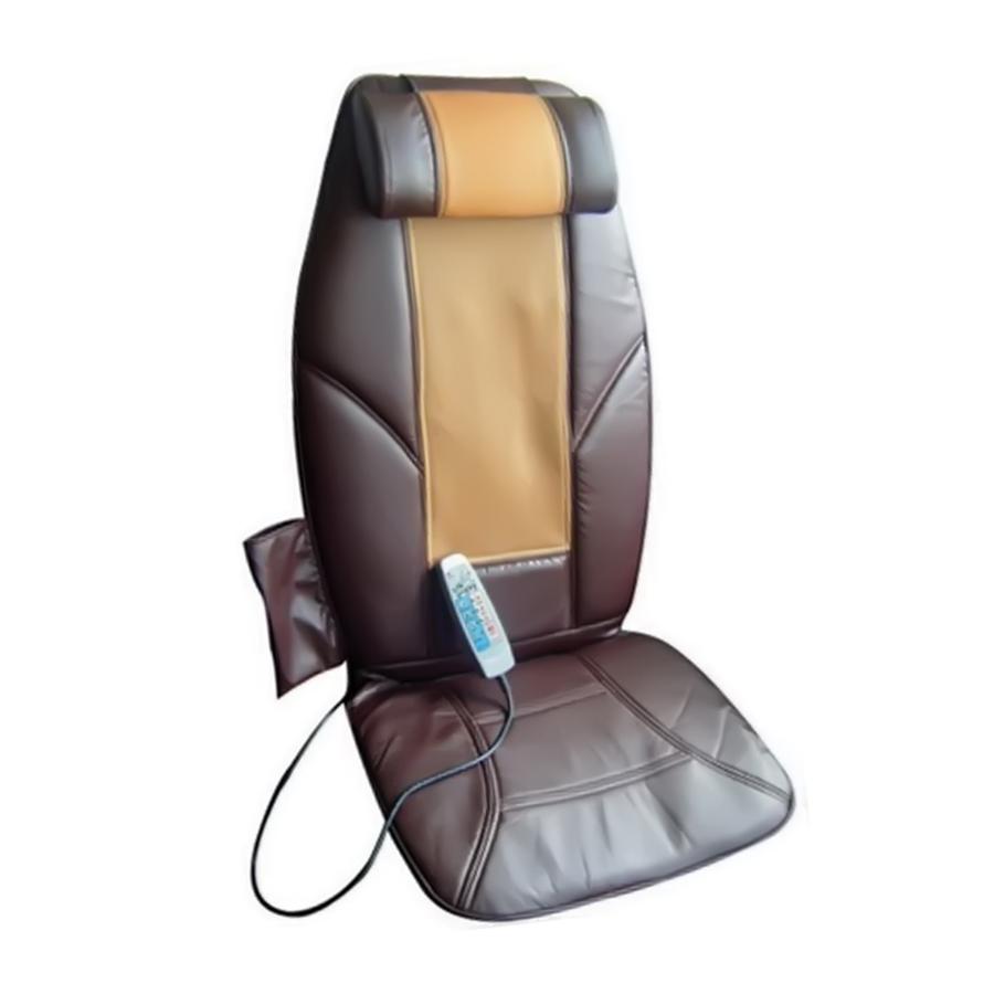 Роликовая массажная подушка с прогревом Fitstudio M2