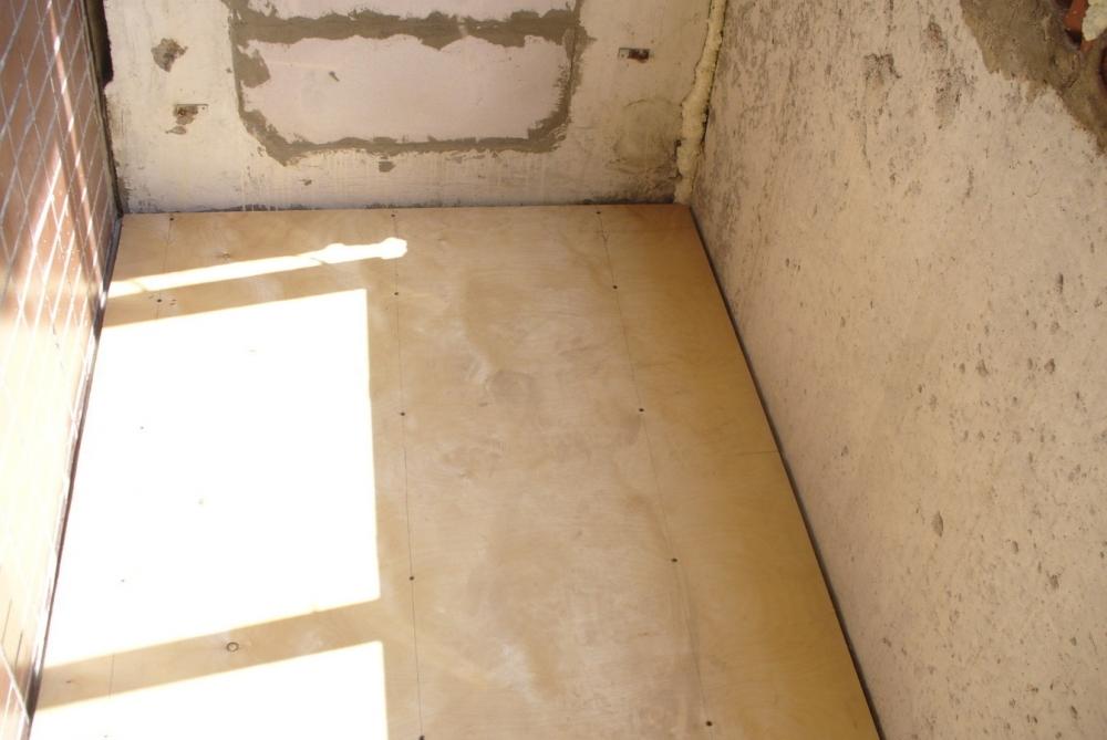 Пол на балконе из пеноблоков. - мои статьи - каталог статей .