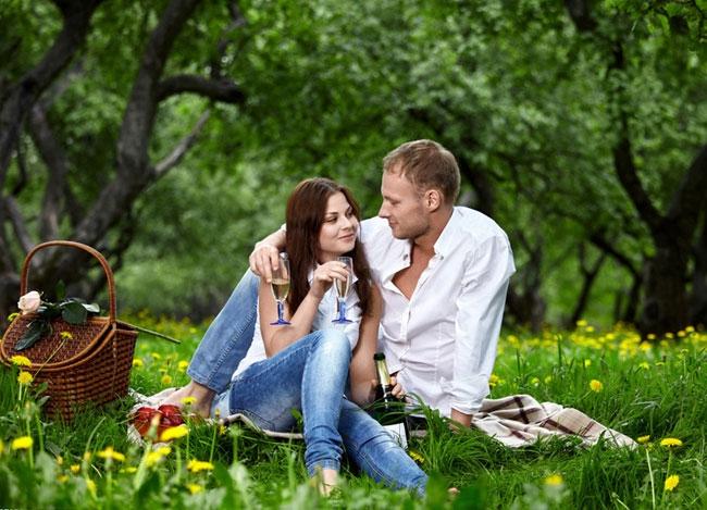 природе на русская пара
