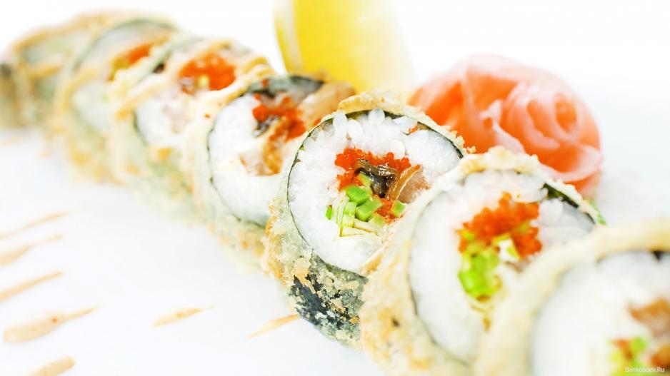 авокадо суши бар: