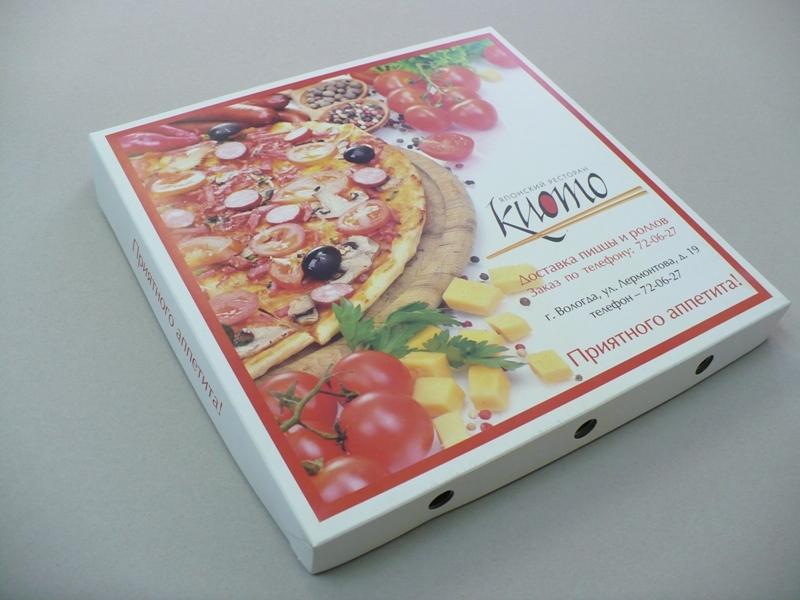 оборудование для производства коробки для пиццы