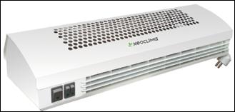 Тепловые завесы NEOCLIMA с нагревательным элементом типа ZIG-ZAG