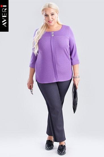 Красивые блузки большого размера купить в