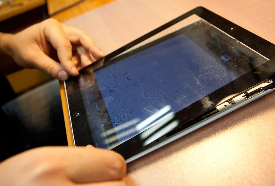 Ремонт планшетов своими руками экран