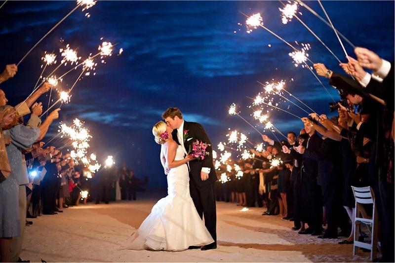 Как закончить свадьбу красиво