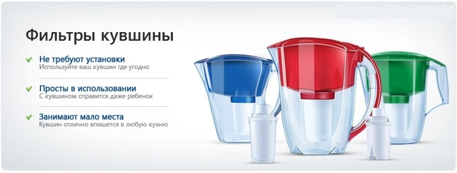 Фильтры для воды в Череповце