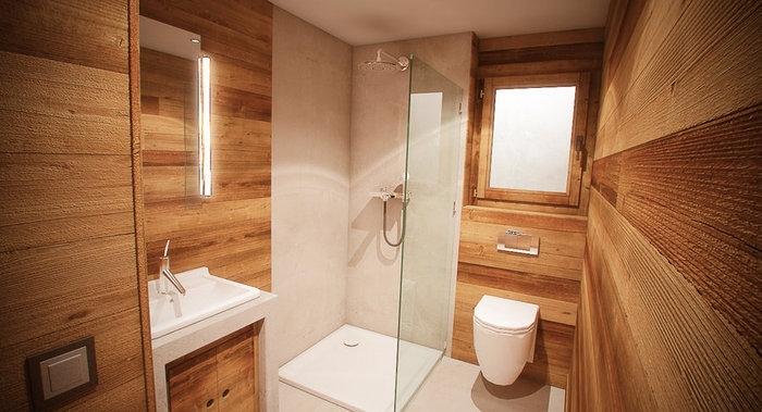 Ванная комната на даче дизайн