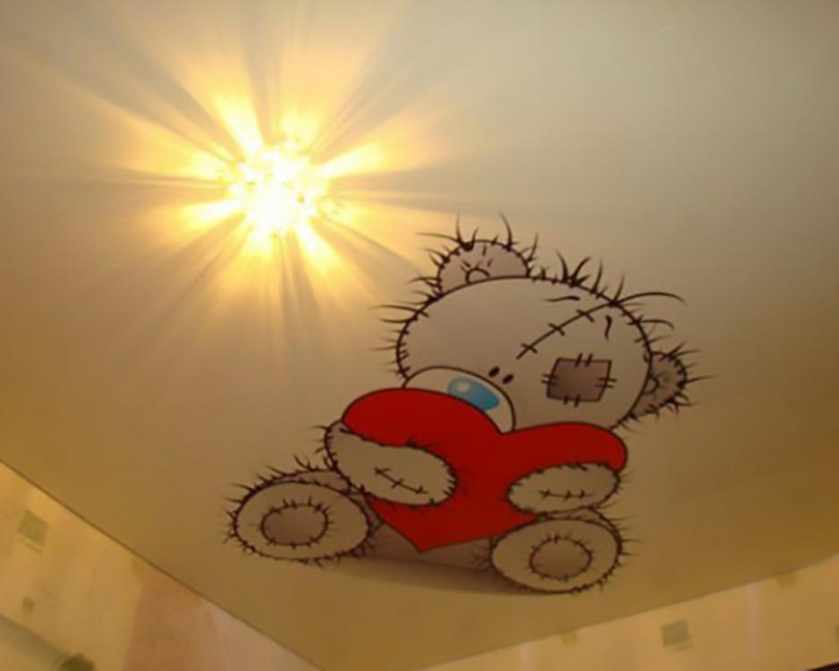 Печать для детской комнаты.
