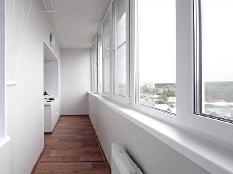 Алюминевое остекление балконов