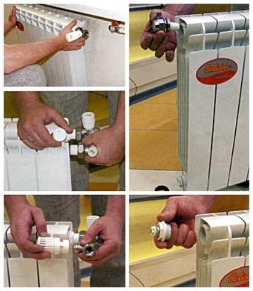 Биметаллические радиаторы монтаж своими руками