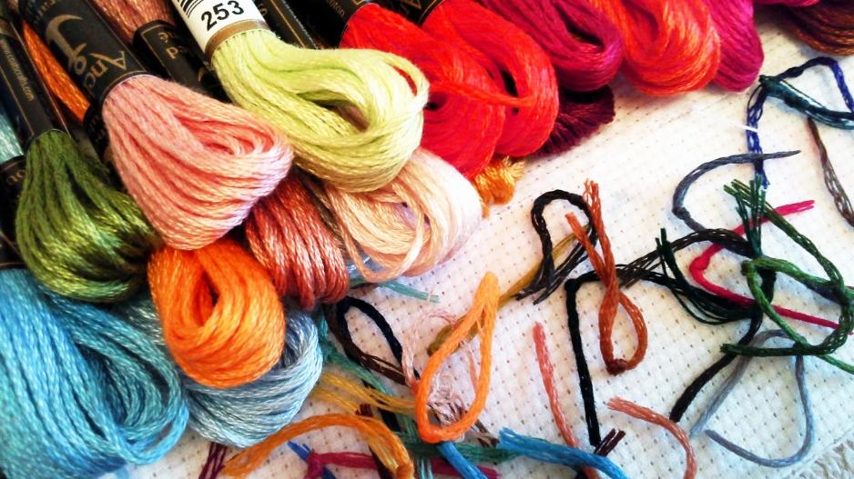 Нитки для вязания и вышивки 869