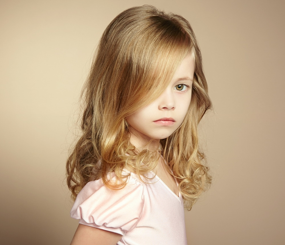 Прически для портрета девочки