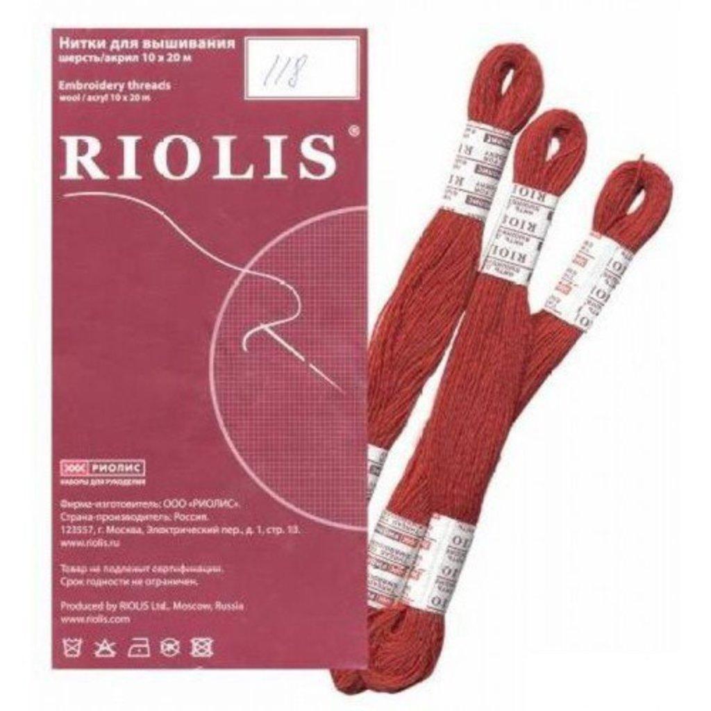 Шерстяные нитки для вышивания RIOLIS Купить 54
