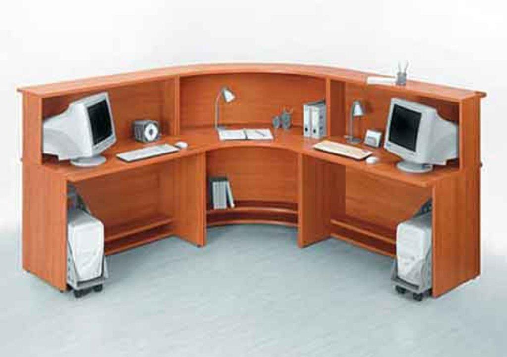 Стол для регистратуры купить в оренбурге по выгодной цене - .