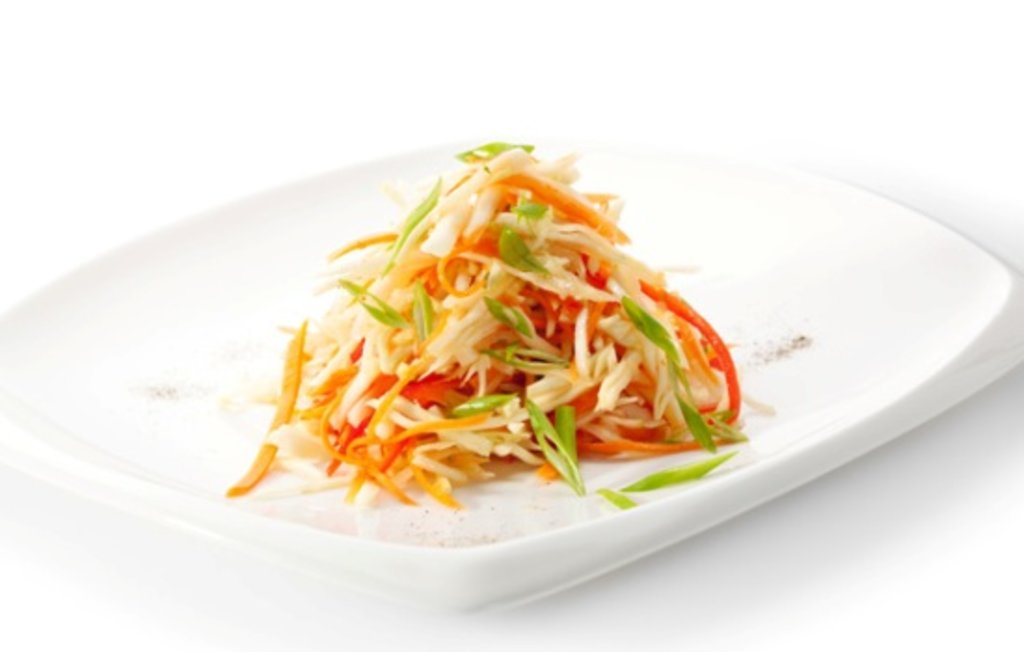 рецепт салат капуста морковь болгарский перец лук