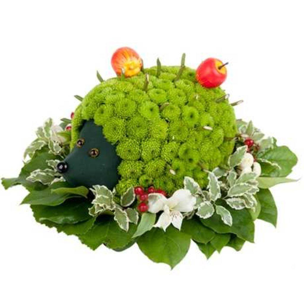 Идеи подарка из живых цветов