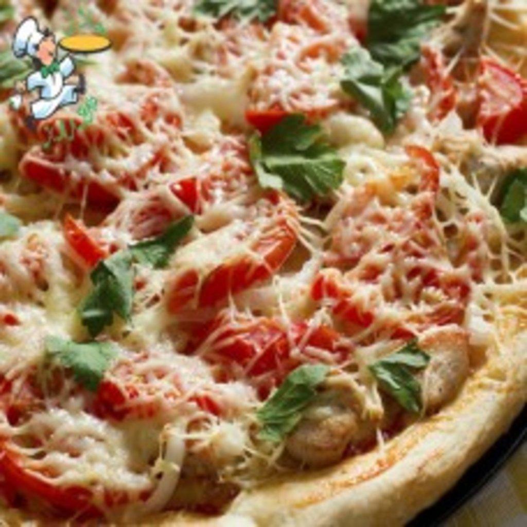 Рецепт пиццы с грудкой