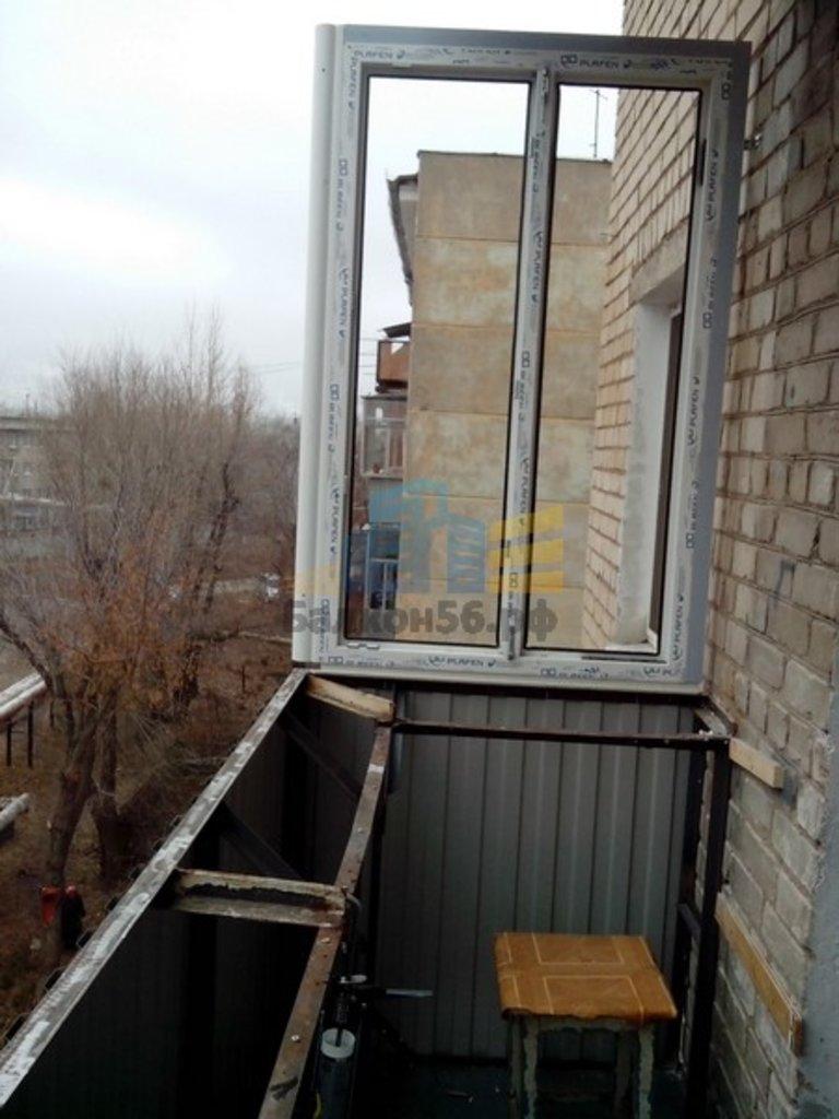 Увеличение или расширение (вынос) балкона купить в оренбурге.
