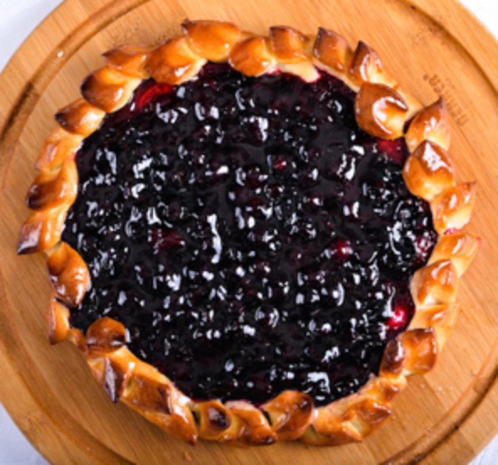 Дрожжевой пирог с черной смородиной рецепт с
