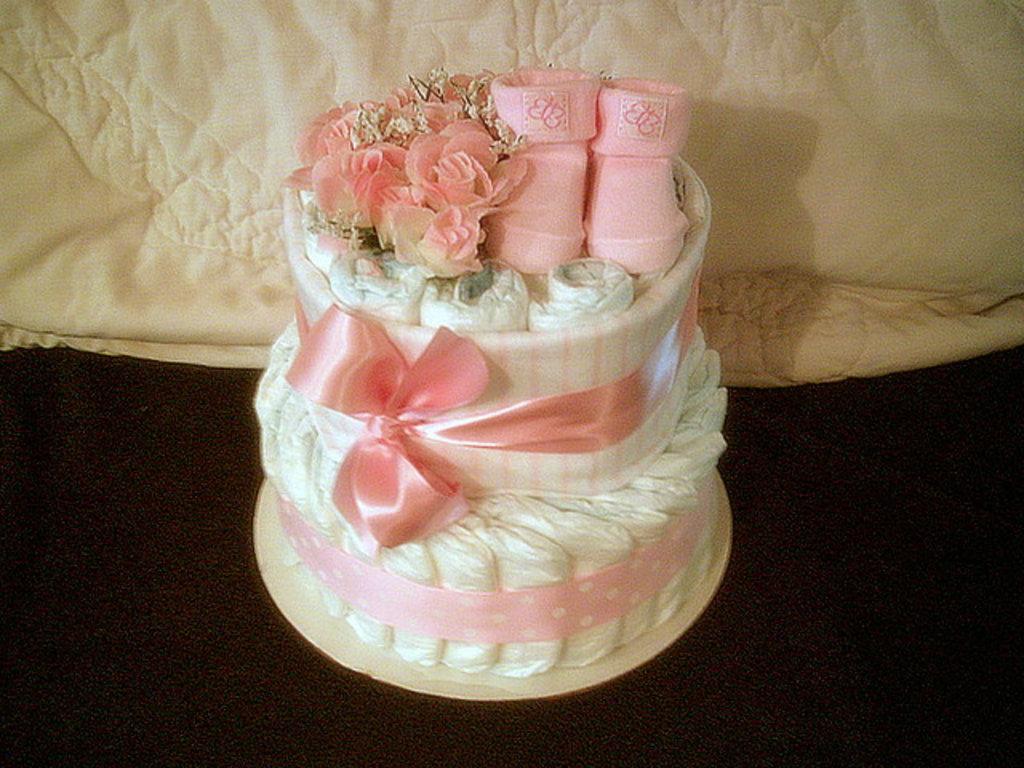 Торт из памперсов сделать своими руками