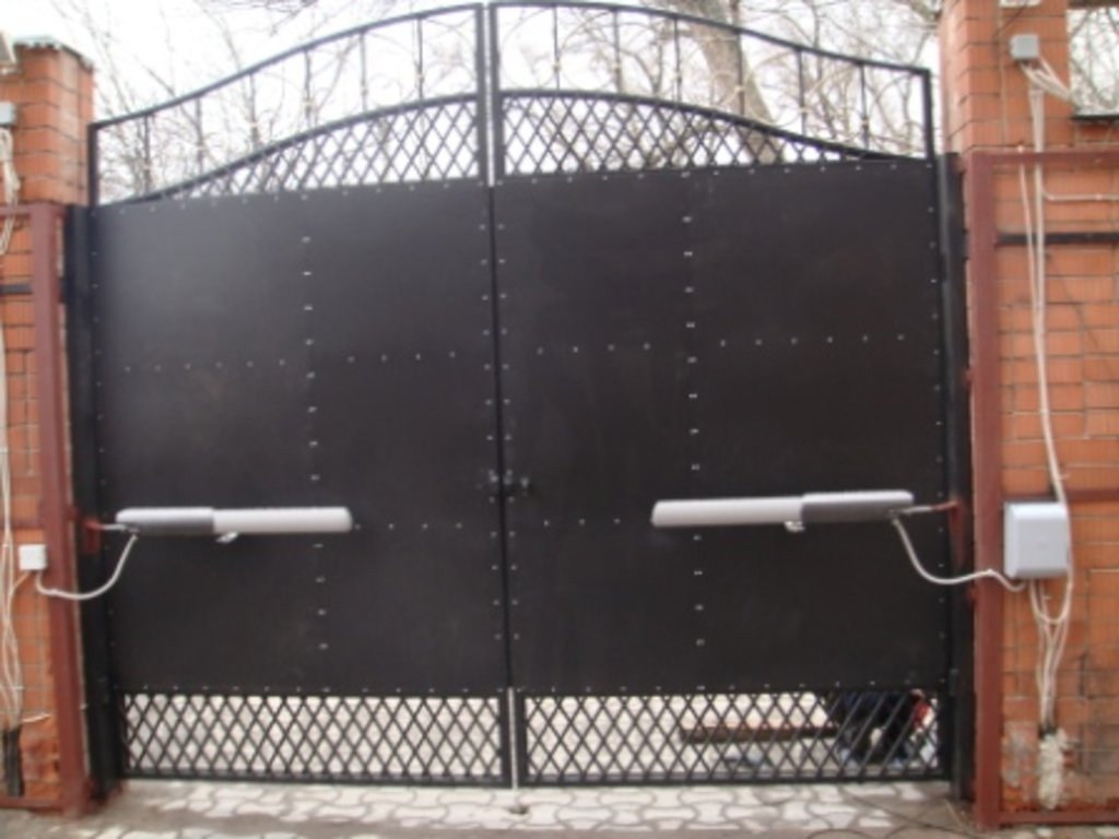 Автоматика ворот цены цена ворот из профнастилам фаств