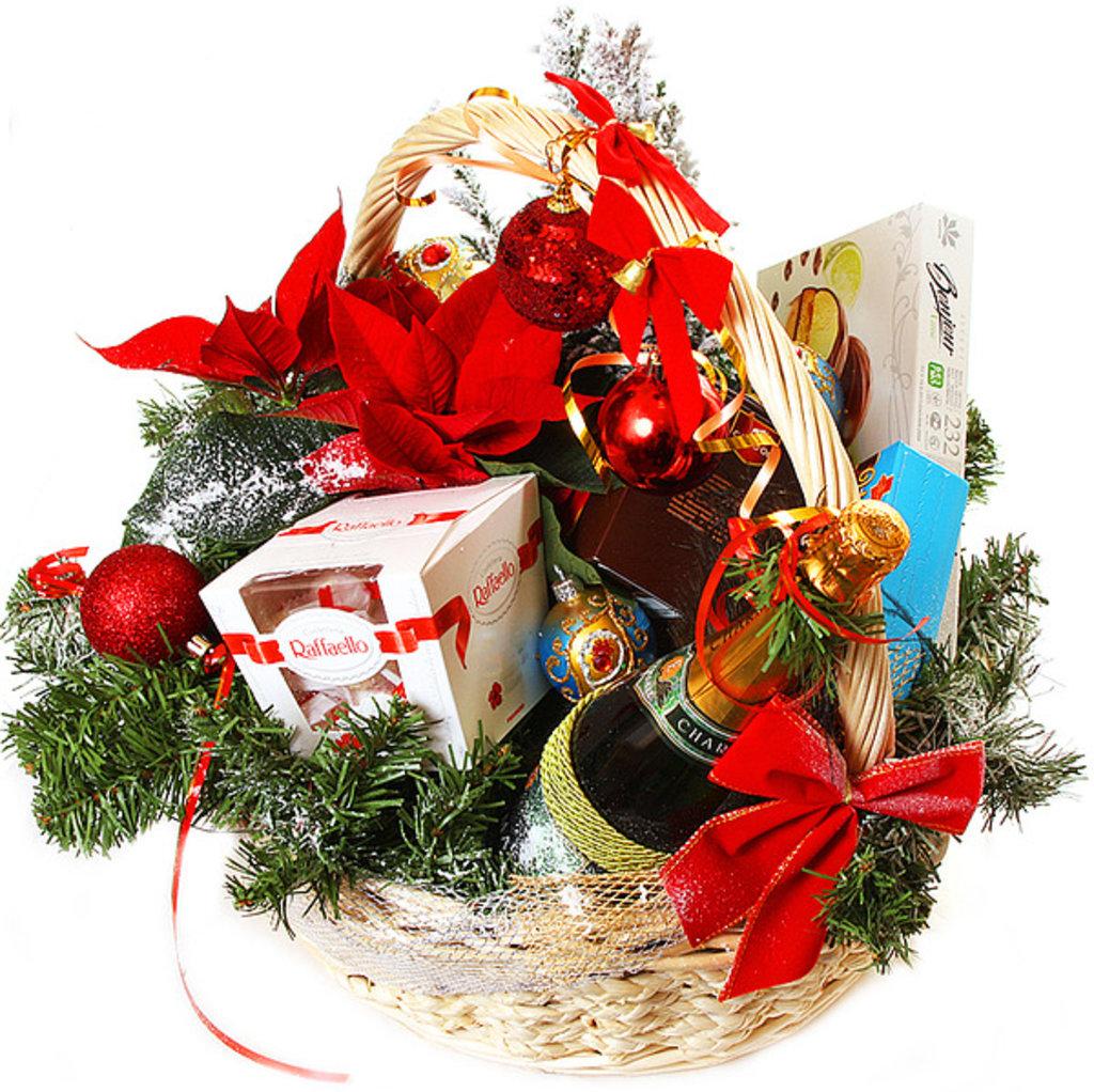 Формирование новогоднего подарка