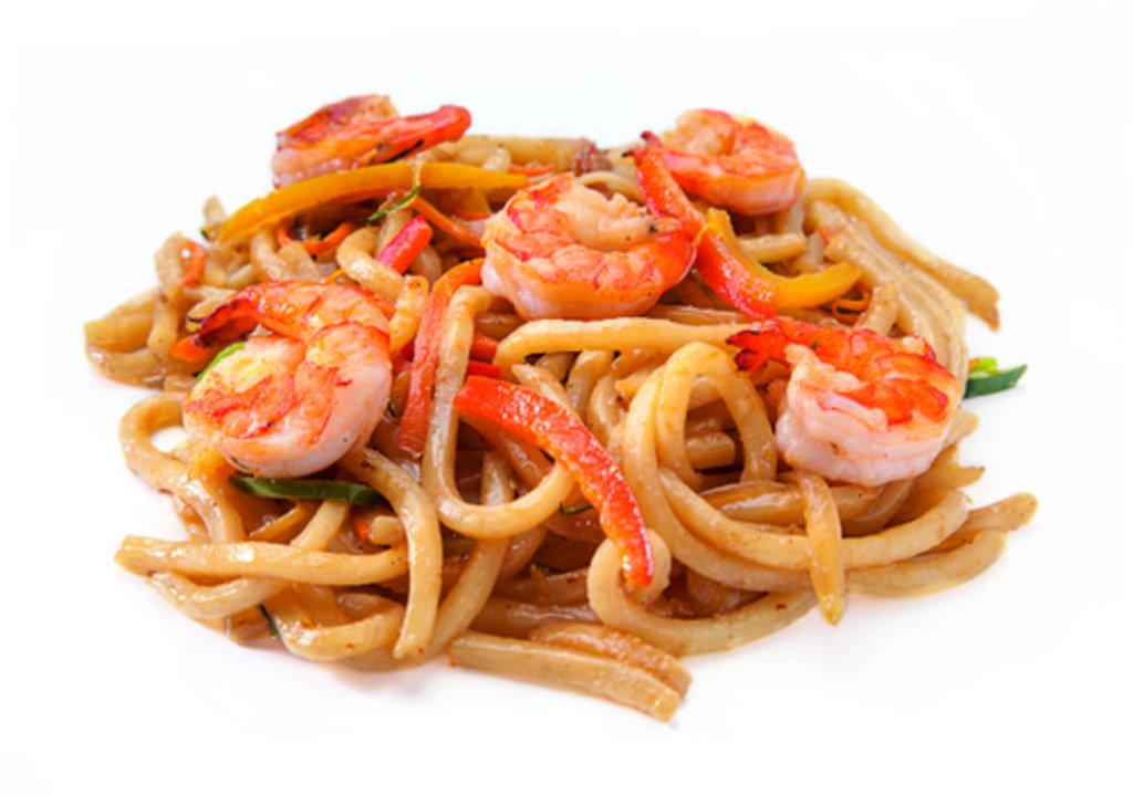 Вок с морепродуктами рецепты лапша