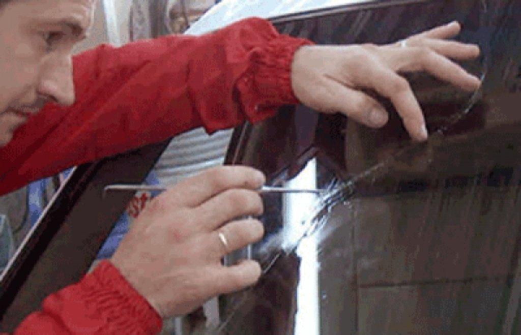 Сколы на стекле в домашних условиях