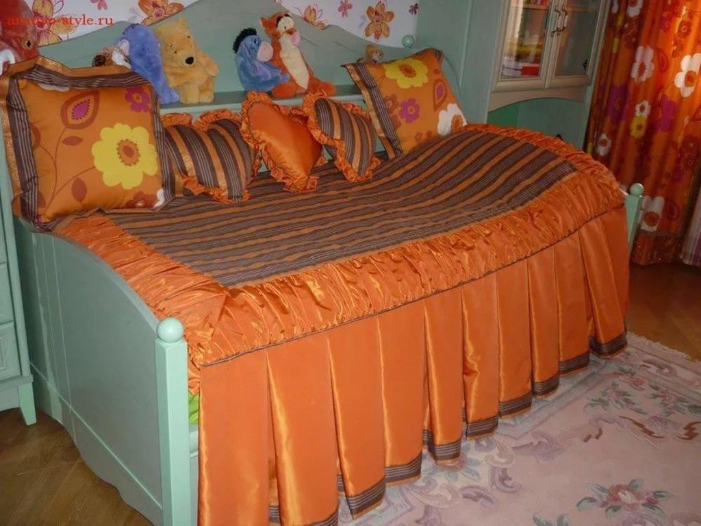 Детские покрывала на кровать сшить своими руками