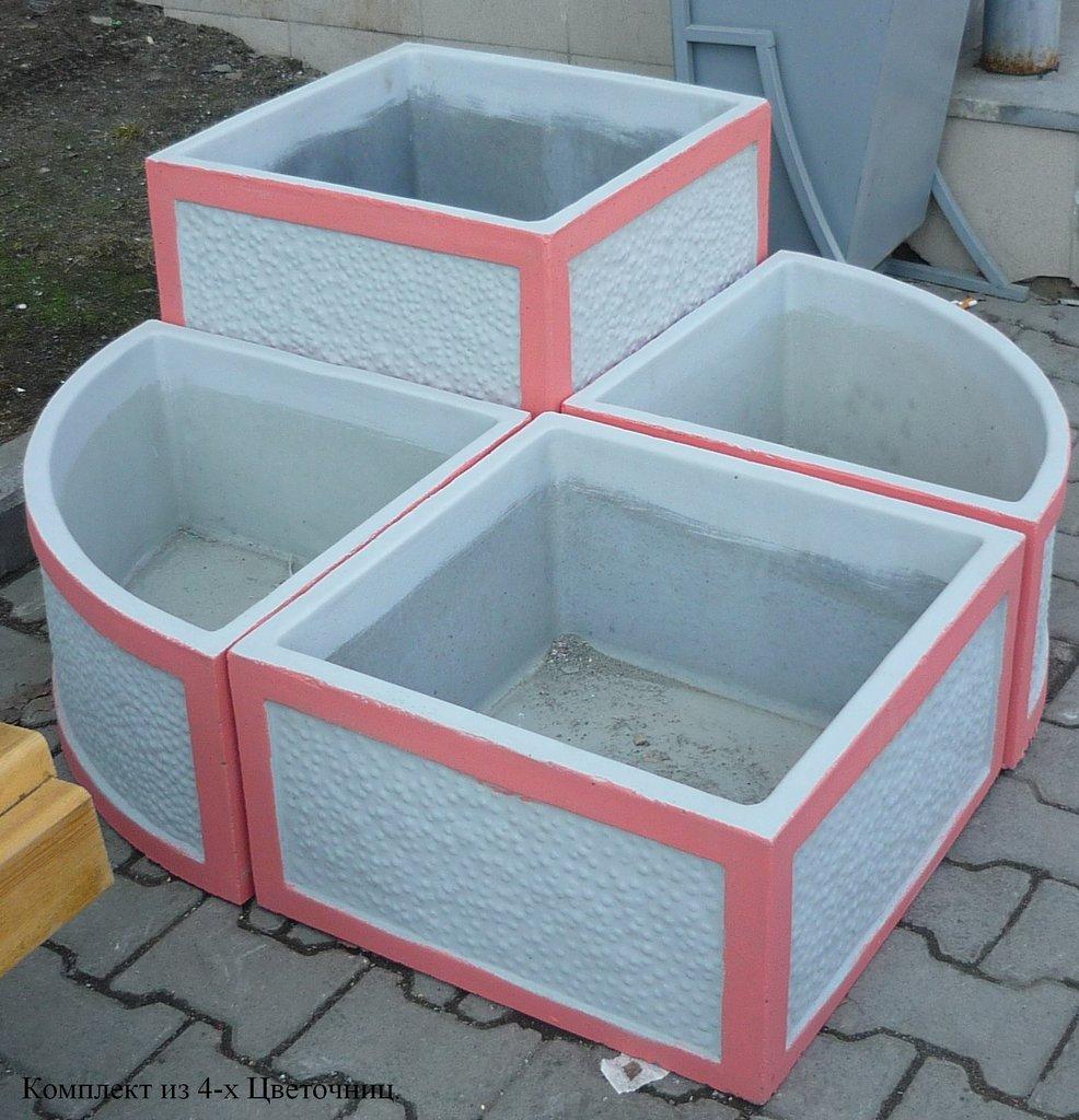 Вазоны для цветов уличные бетонные купить в екатеринбурге