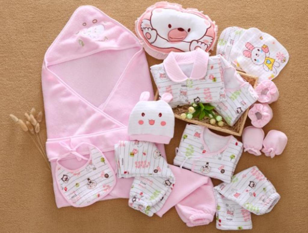 Подарки комплект для новорожденных 25