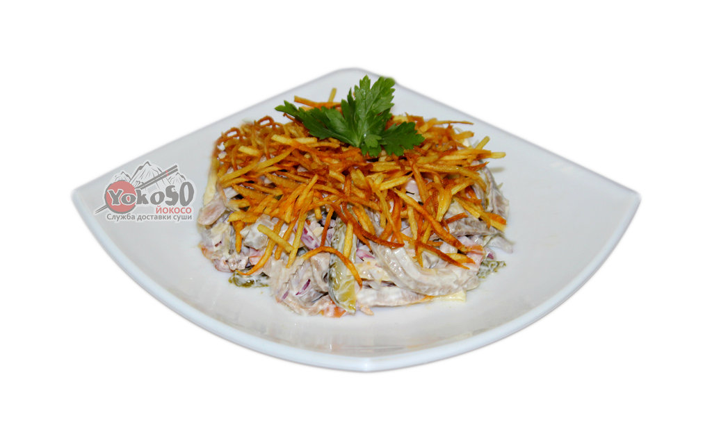 Салат с картофелем пай рецепт с фото