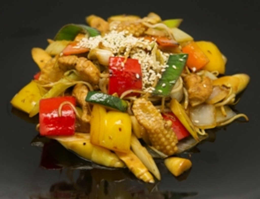 Рецепт курица с овощами по-китайски рецепт