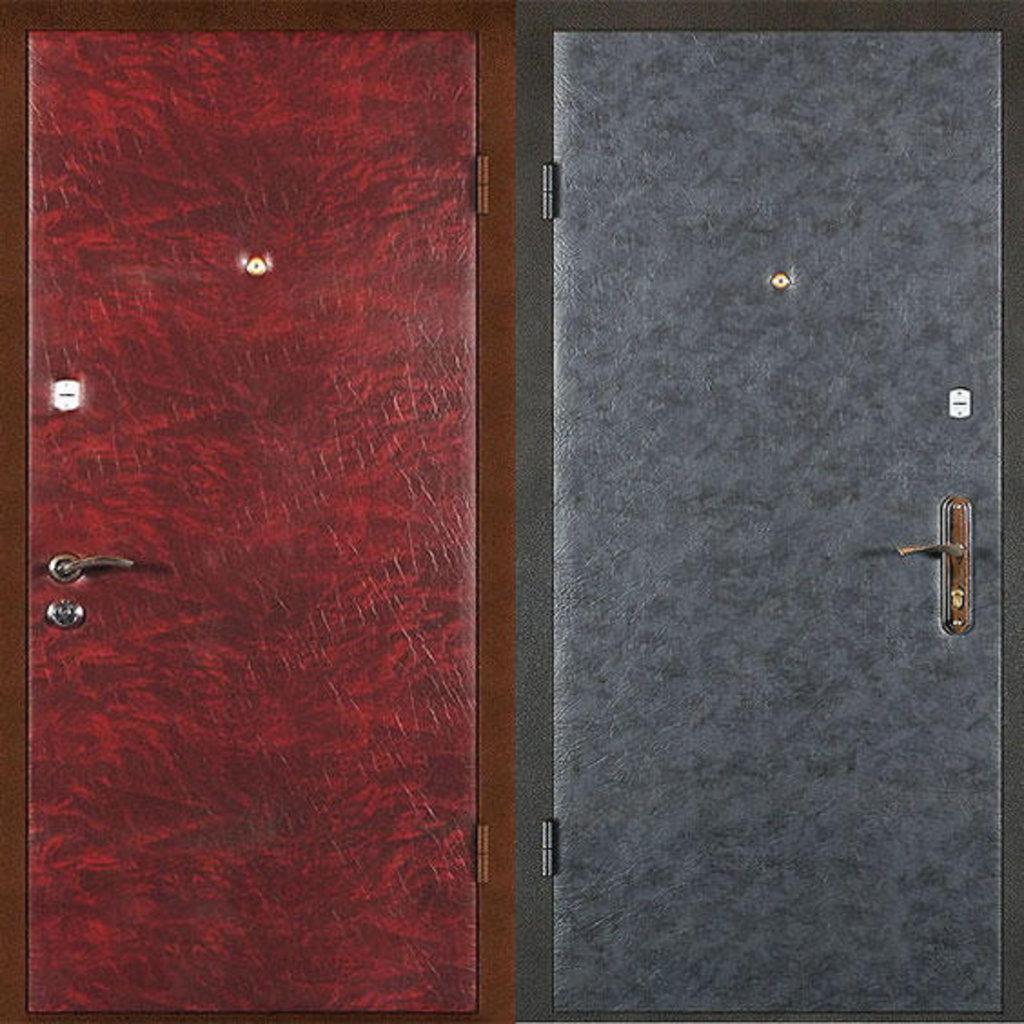 входные двери с отделкой из винилискожи