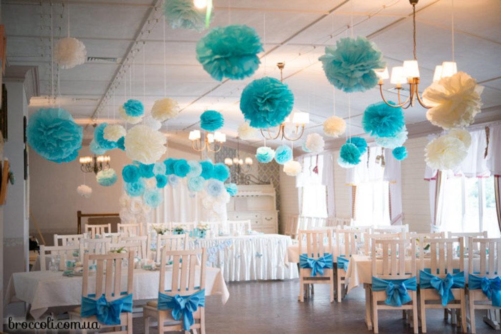 Как украсить зал на свадьбу своими руками, фото, сколько стоит 54