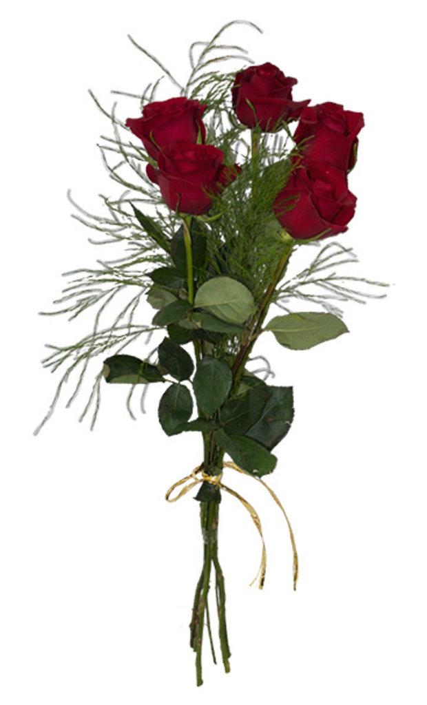 Доставка живых цветов 5 роз заказ цветов луцк