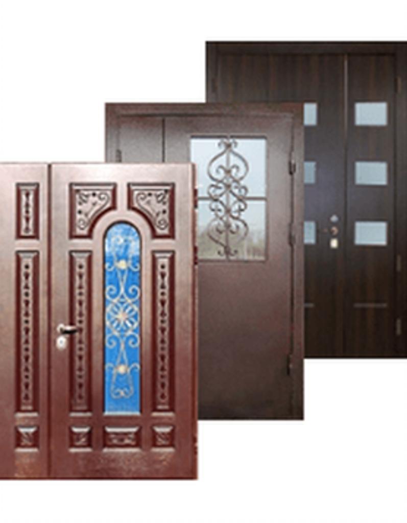 купить дверь входную тамбурную металлическую