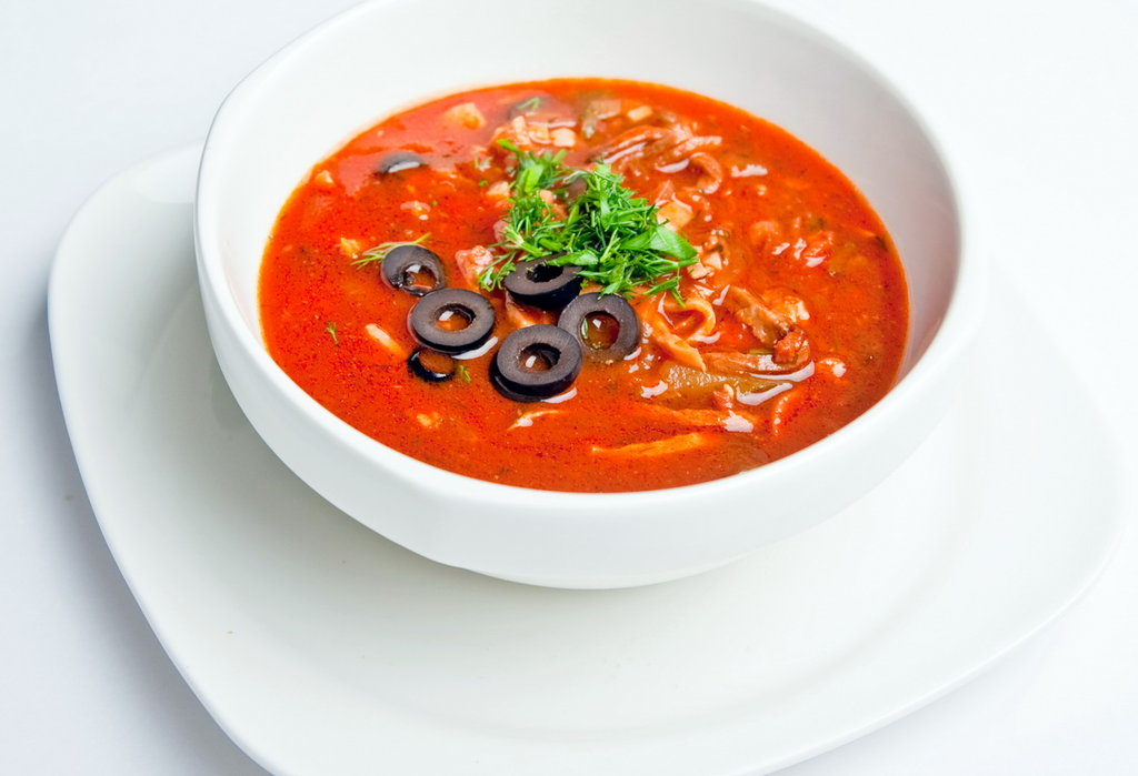 ресторанные супы рецепты с фото