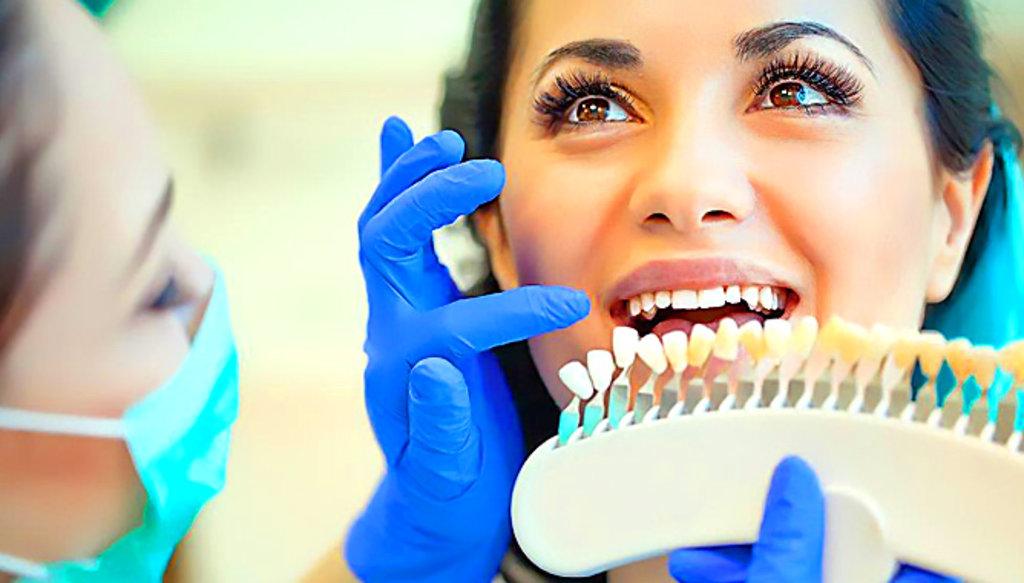Оттенки зубной эмали