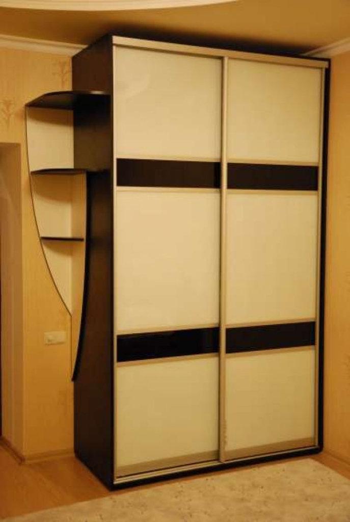 Купить коричневый шкаф-купе в москве и ступино недорого - су.