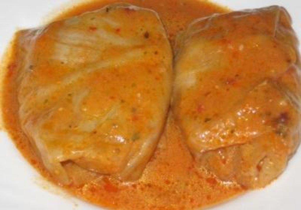 Голубцы рецепт пошагово с в соусе