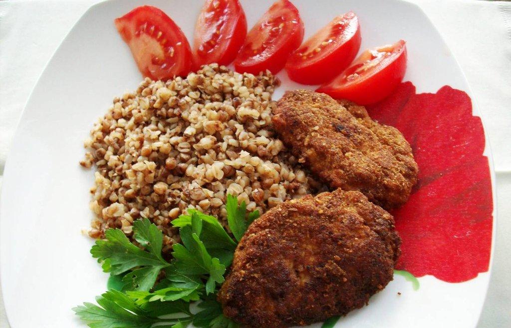 Котлеты из гречки и куриного фарша рецепт пошаговый