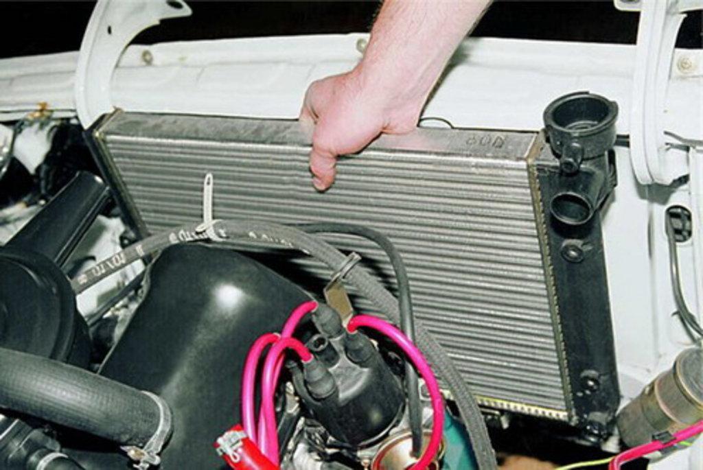 Ваз 2110 ремонт своими руками охлаждения 193