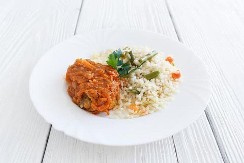 горбуша с рисом рецепты фото