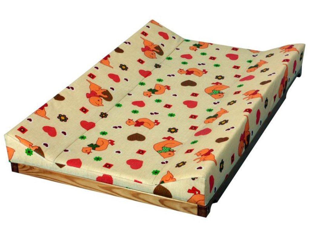 Пеленальная доска на кроватку своими руками
